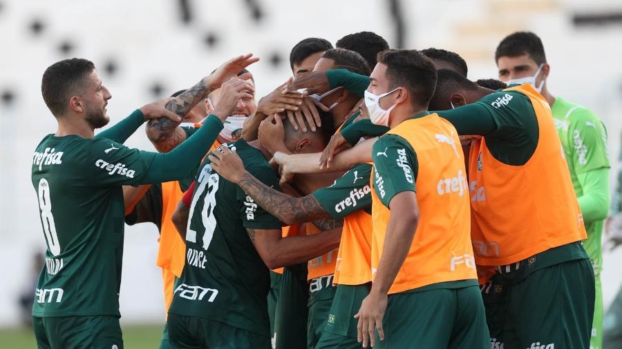 Palmeiras busca uma vaga na semifinal na noite desta sexta-feira - Cesar Greco/ Palmeiras