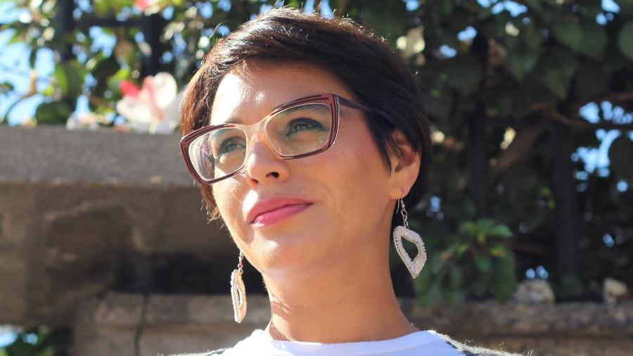 Karina Oliva, candidata ao governo da Região Metropolitana de Santiago, no Chile - Reprodução