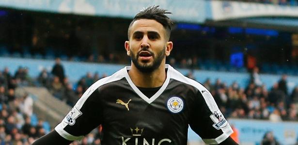 Mahrez recebe proposta de aumento salarial do Leicester