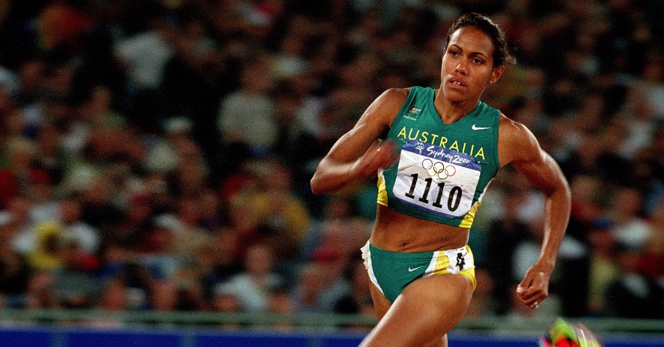 Cathy Freeman durante as Olimpíadas de Sydney-2000