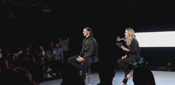 Ibrahimovic não declarou qual será seu futuro em evento