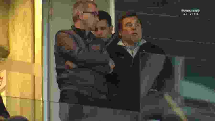 Raül Sanllehí, diretor do Barcelona, em jogo entre Palmeiras e América-MG, em 2016 - Reprodução