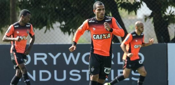 Rómulo Otero já está treinando no Atlético-MG e deve estrear na próxima rodada - Bruno Cantini/Clube Atlético Mineiro