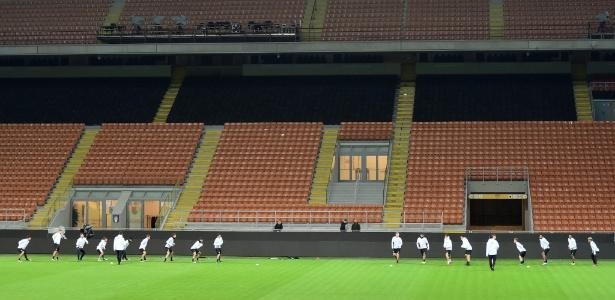 Estádio San Siro receberá Itália x Alemanha nesta terça-feira