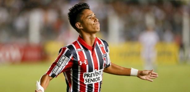 Luiz Araújo tem se destacado pelo São Paulo na temporada 2017