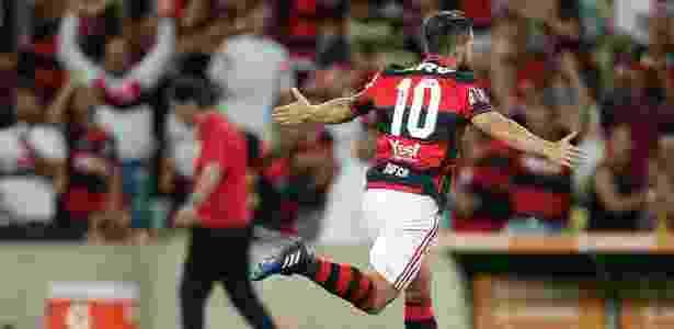 Diego brilhou na estreia do Flamengo na Libertadores - Pedro Martins / MoWA Press