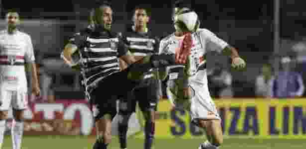 Maycon em ação no clássico passado: Corinthians venceu por 2 a 0 no Morumbi - Daniel Augusto Jr. / Ag. Corinthians