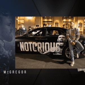 """Dá para entender por que o apelido de McGregor é """"The Notorious"""" - Reprodução/Instagram"""