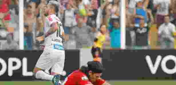 Lucas Lima se machucou no último dia 10 de setembro - Daniel Vorley/AGIF