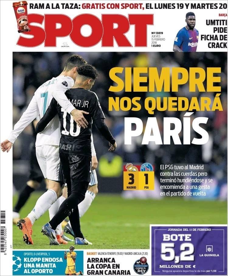 Capa Sport (15/2)