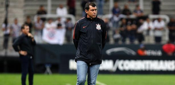 Carille está perto de voltar ao Corinthians depois de uma rápida passagem pelo Al-Wehda - Daniel Vorley/AGIF