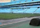 Arena do Grêmio conclui troca de gramado e inicia fase de tratamento - Leonardo Silveira/Divulgação
