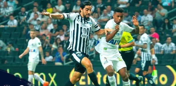 Destaque do Santos na temporada, Rodrygo teve atuação discreta