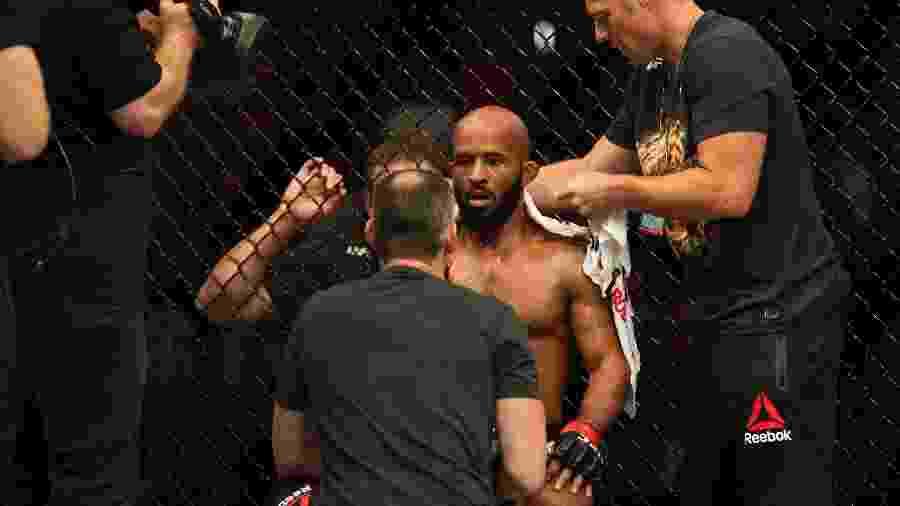 Demetrious Johnson no UFC 227  - Diego Ribas/Ag. Fight