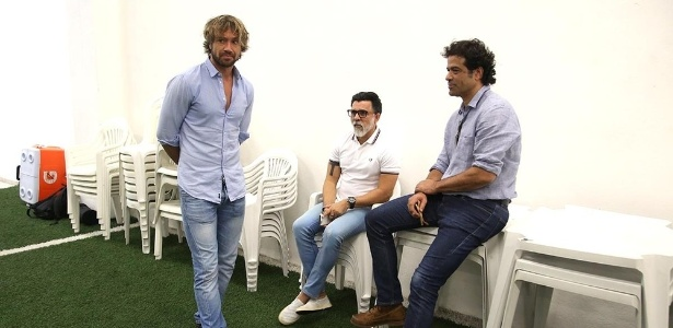 Lugano, Ricardo Rocha e Raí formam o trio de dirigentes do São Paulo