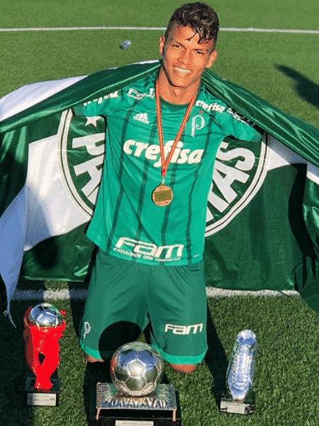 Gabriel Verón é a principal estrela do momento, mas Palmeiras tem outras apostas - Reprodução/Instagram