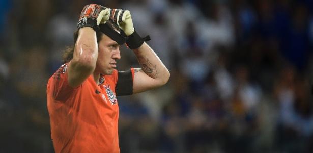 Cássio falou com a imprensa nesta sexta-feira (16), véspera do duelo com o Vasco - Pedro Vilela/Getty Images