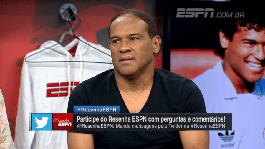 Müller, durante participação no Resenha ESPN - Reprodução/ESPN