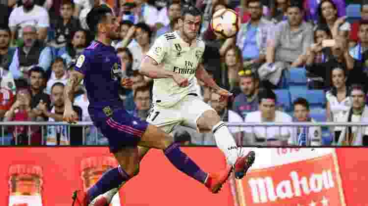 Bale em ação contra o Celta - GABRIEL BOUYS/AFP - GABRIEL BOUYS/AFP