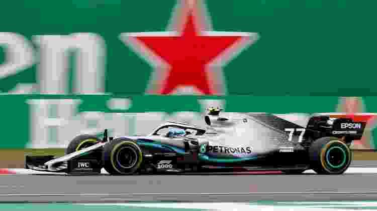 Valtteri Bottas, piloto da Mercedes no GP da China na Fórmula 1 - Aly Song/Reuters - Aly Song/Reuters