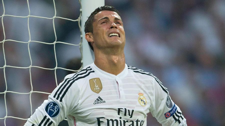 Em maio de 2015, o Real Madrid de Cristiano Ronaldo foi eliminado para a Juventus na Liga dos Campeões - Gonzalo Arroyo Moreno/Getty Images