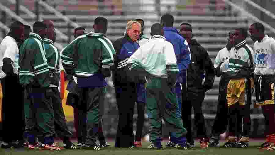 Rudi Gutendorf comandou a seleção de Ruanda entre 1999 e 2000 - Divulgação/DFB