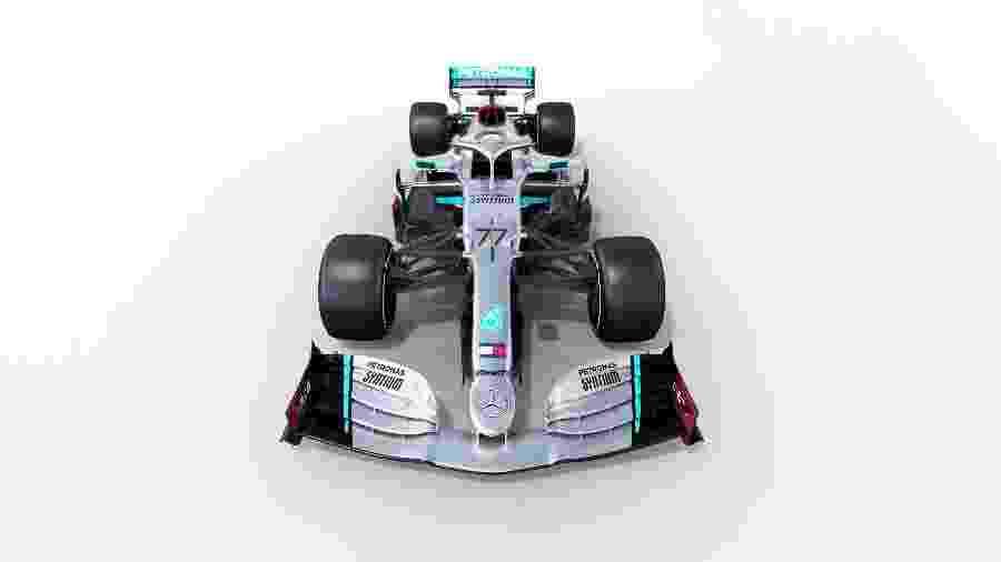 Carro da Mercedes para a temporada 2020 da F1 - Mercedes/Divulgação