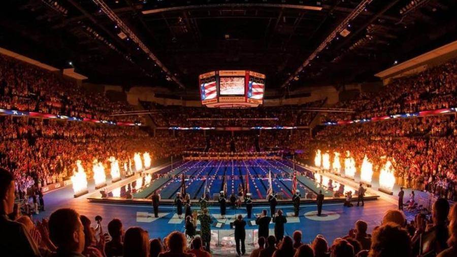 Seletiva olímpica da natação americana - Divulgação/Omaha