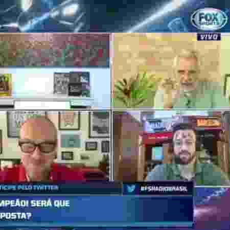Fox Sports - Reprodução/Fox Sports - Reprodução/Fox Sports