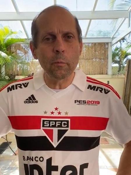 Roberto Natel explica por que teve acesso a tantos ingressos no São Paulo - Reprodução