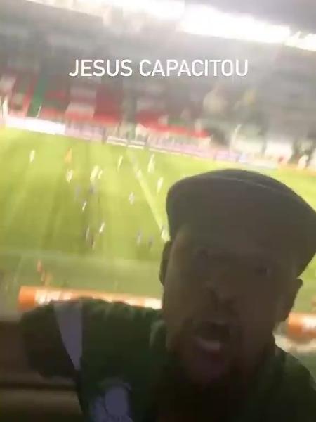 Felipe Melo publicou vídeo nos Stories - Reprodução/Instagram @felipemelo