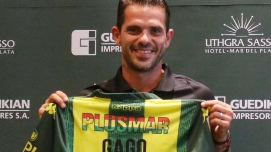 Fernando Gago é apresentado como técnico do Aldosivi, da Argentina - Divulgação Aldosivi