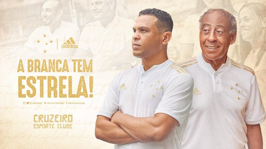 Cruzeiro lança novo uniforme branco e dourado; veja - Twitter