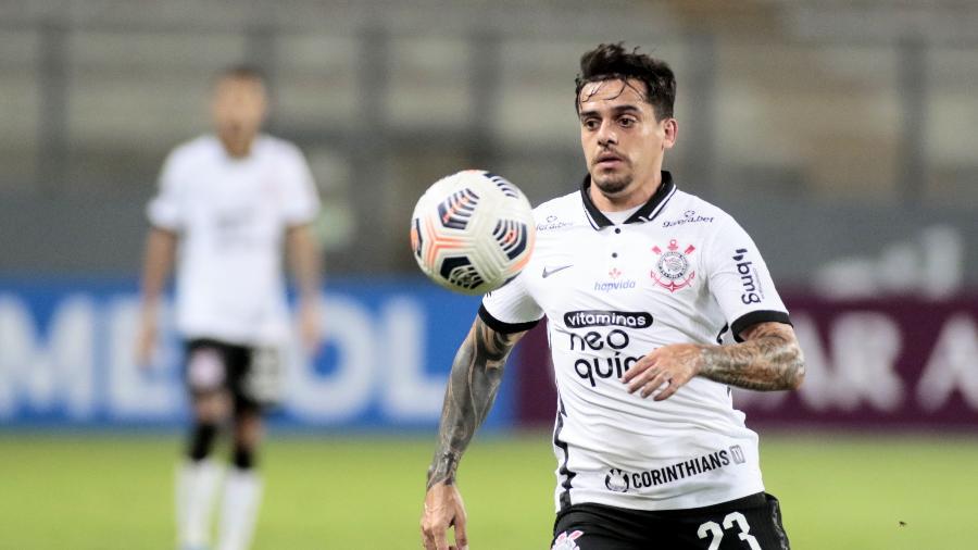 O lateral Fagner completa 400 jogos com a camisa do Corinthians - Rodrigo Coca/Agência Corinthians