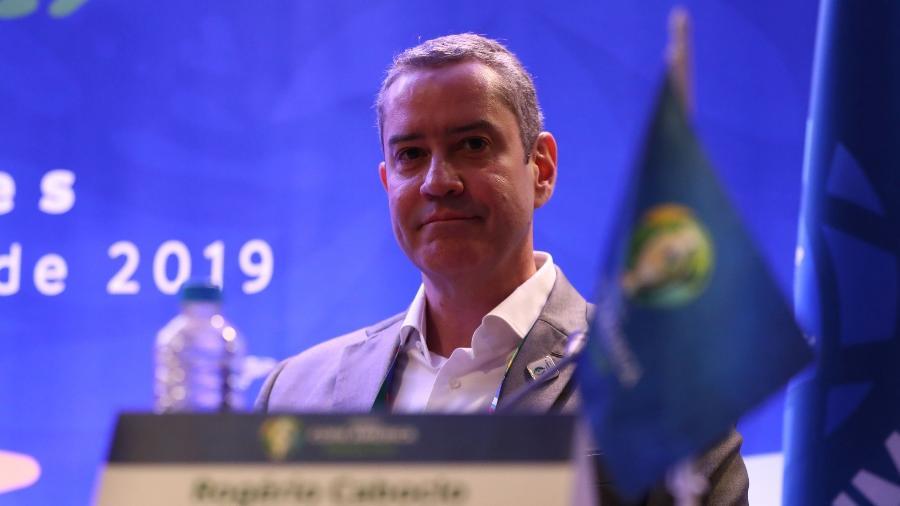 Rogério Caboclo, atual presidente da CBF - Lucas Figueiredo/CBF