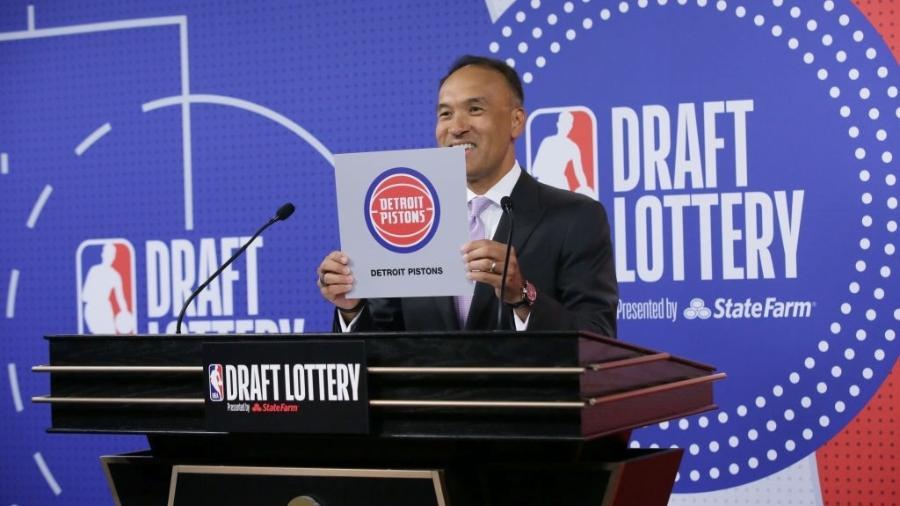 Detroit Pistons terá direito à primeira escolha do draft da NBA em 2021 - NBAE via Getty Images