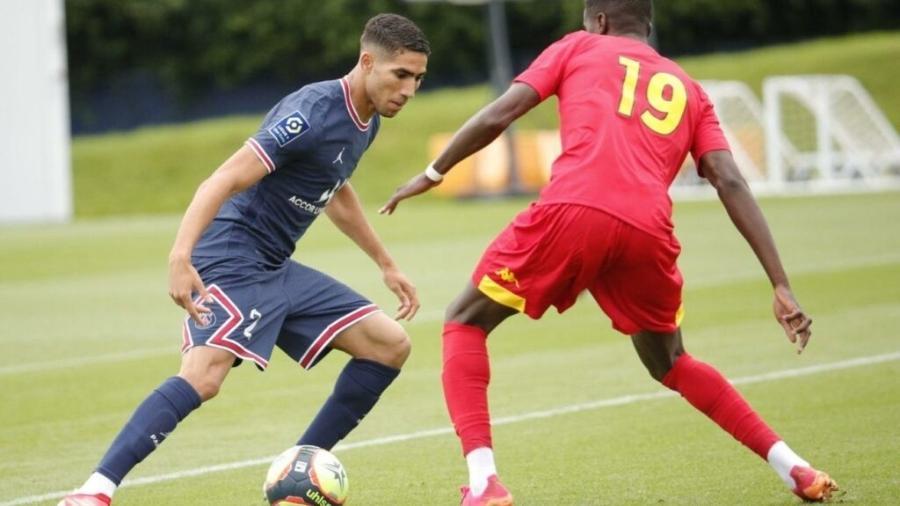 Hakimi já está até participando da pré-temporada do Paris Saint-Germain - Divulgação