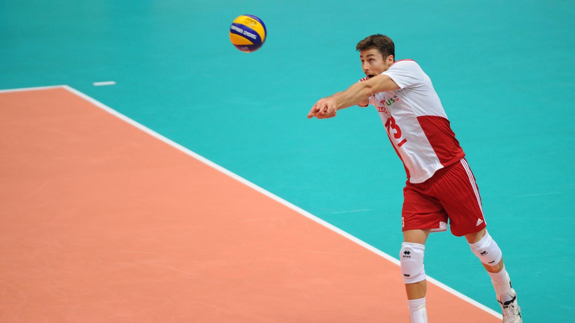 Michal Kubiak, atleta da seleção polonesa de vôlei