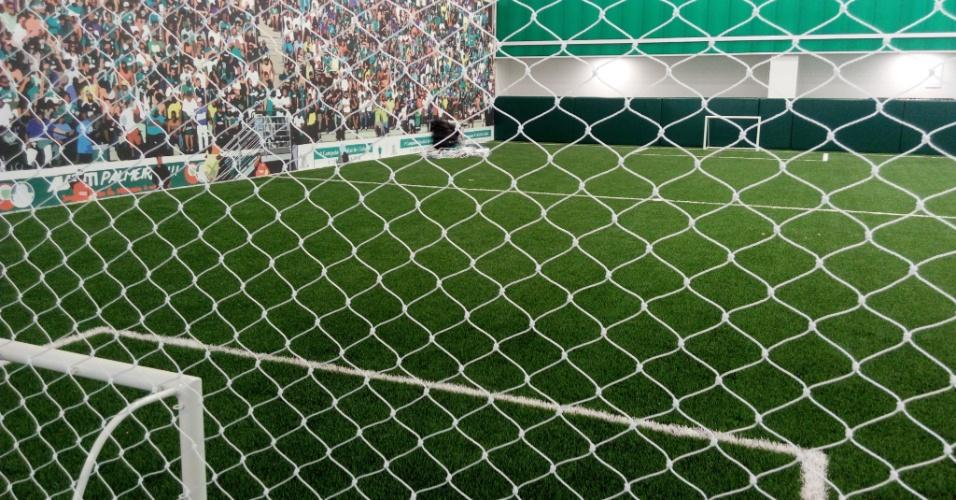 Gramado sintético Palmeiras Academia de Futebol