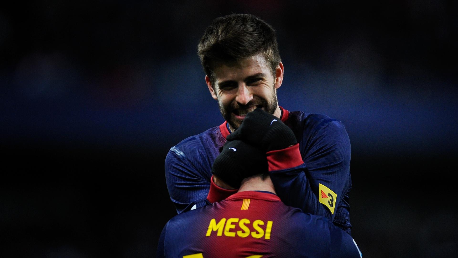 Piqué não deve comparecer ao casamento de Lionel Messi