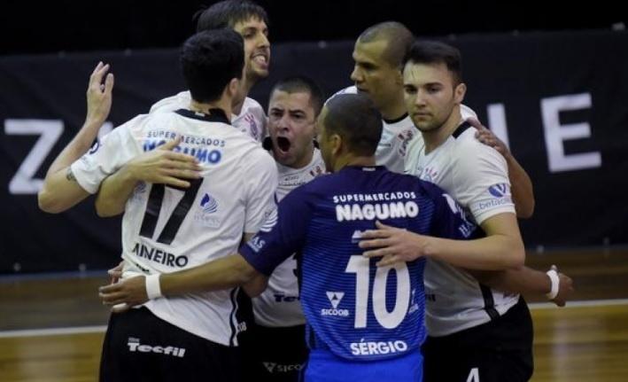 Corinthians garantiu vaga na Superliga