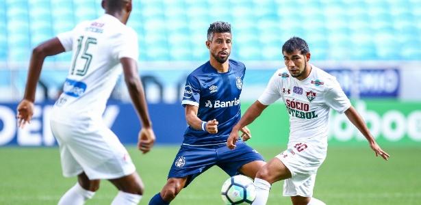 Léo Moura chegou ao Grêmio com 38 anos