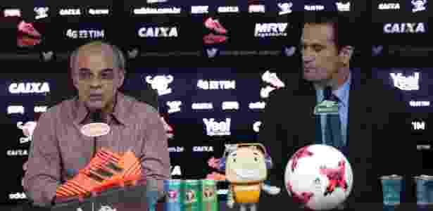 O presidente Bandeira de Mello escolheu Ricardo Lomba para representar a situação - Gilvan de Souza/ Flamengo