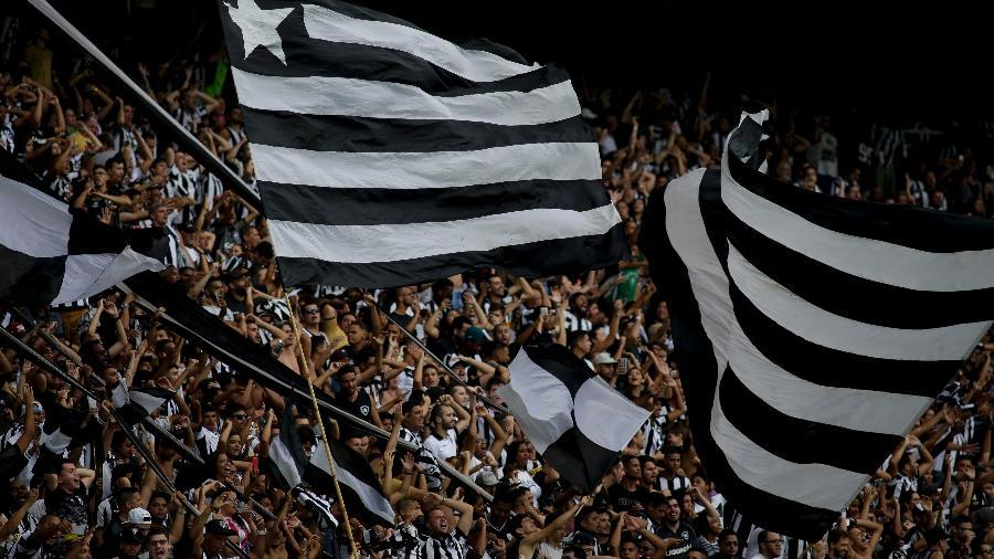 Torcida do Botafogo no Nilton Santos - Luciano Belford/AGIF