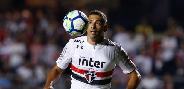 Diego Souza perdeu a confiança da comissão técnica na derrota para o Corinthians - Marcello Zambrana/AGIF