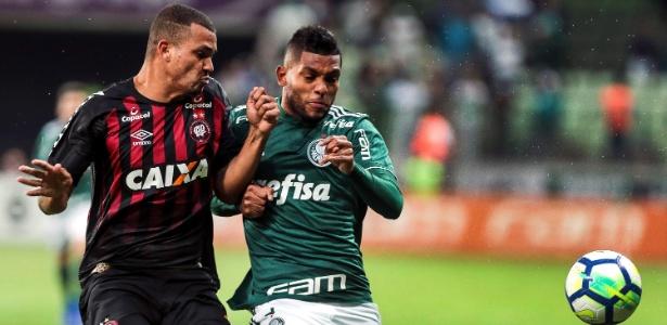 Borja é um dos desfalques do Palmeiras contra o Corinthians