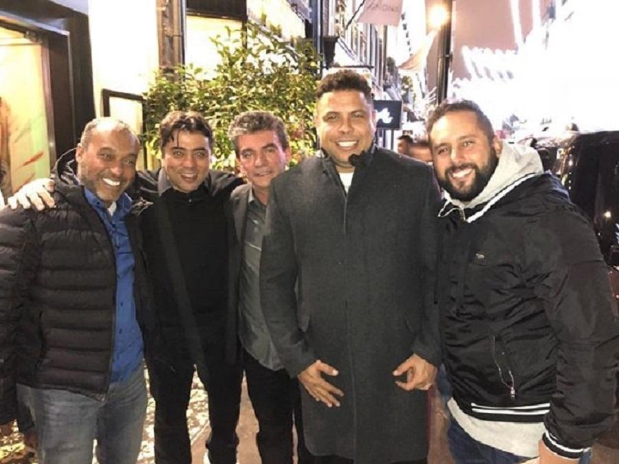 Kia Ronaldo Andrés Sánchez encontro Londres seleção