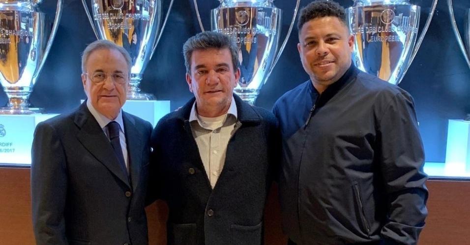 Florentino Pérez Andrés Sánchez Ronaldo Real Madrid