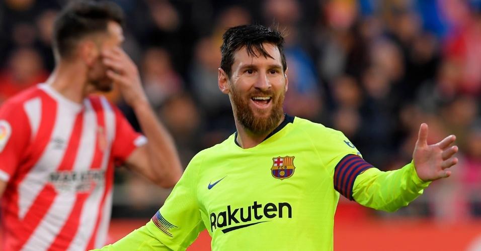 Messi chega a 19 gols contra o Girona