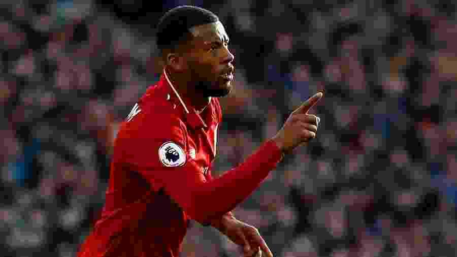 Giorginio Wijnaldum foi fundamental para o Liverpool na vitória sobre o Bournemouth - Jason Cairnduff/Reuters